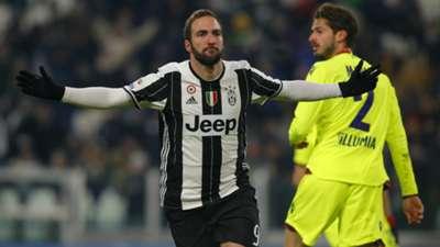 Gonzalo Higuain Juventus Bologna