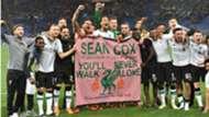 Sean Cox banner Liverpool