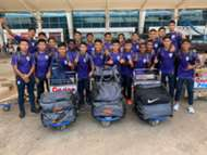 India U15 for Italy trip