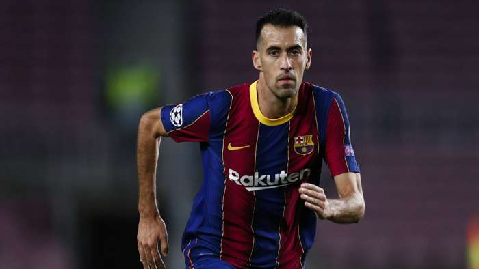 Sergio Busquets Barcelona 2020-21