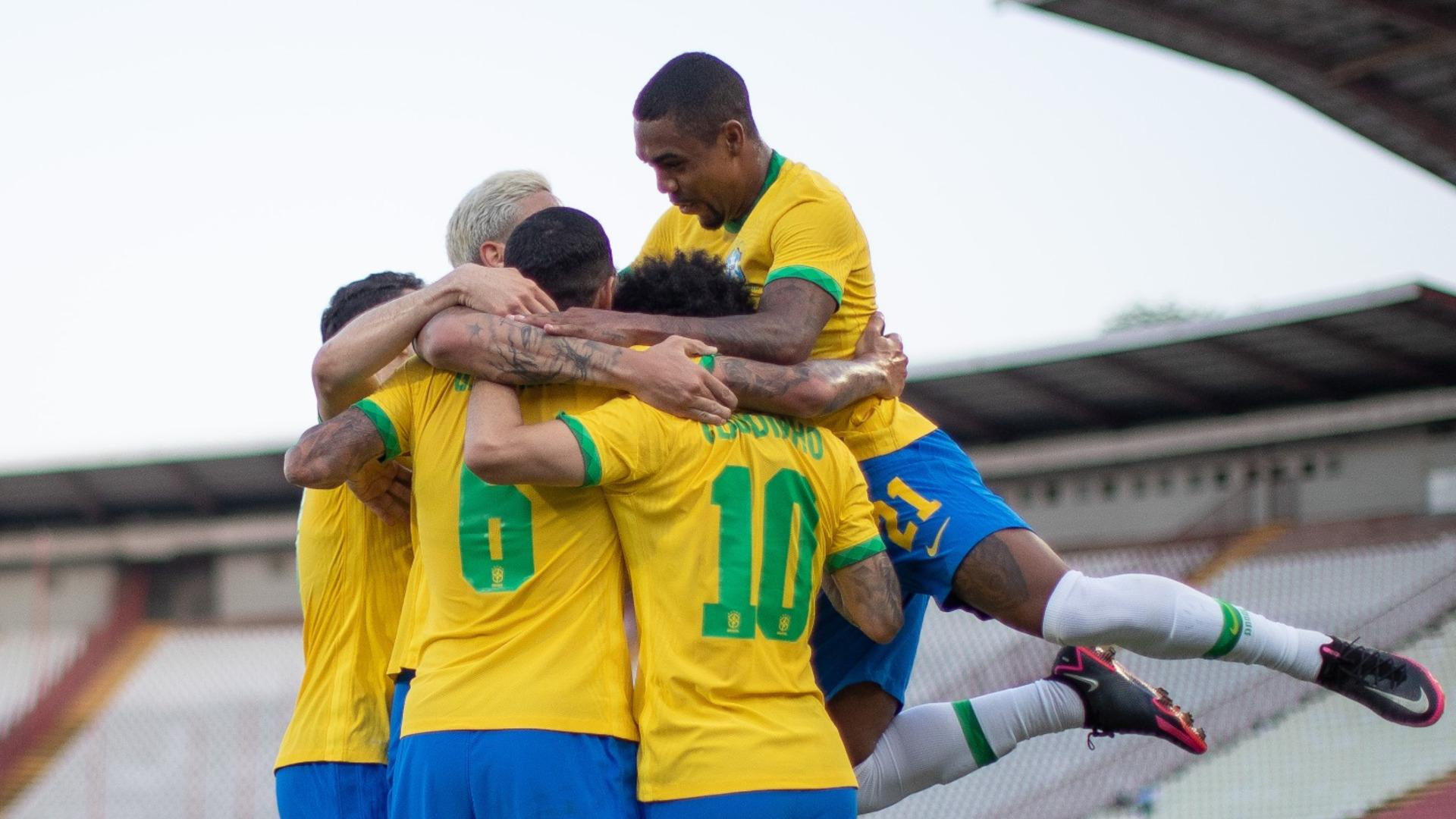 Brasil 3 X 0 Servia Selecao Olimpica Vence Ultimo Amistoso Antes Da Olimpiada Do Japao 2021 Goal Com