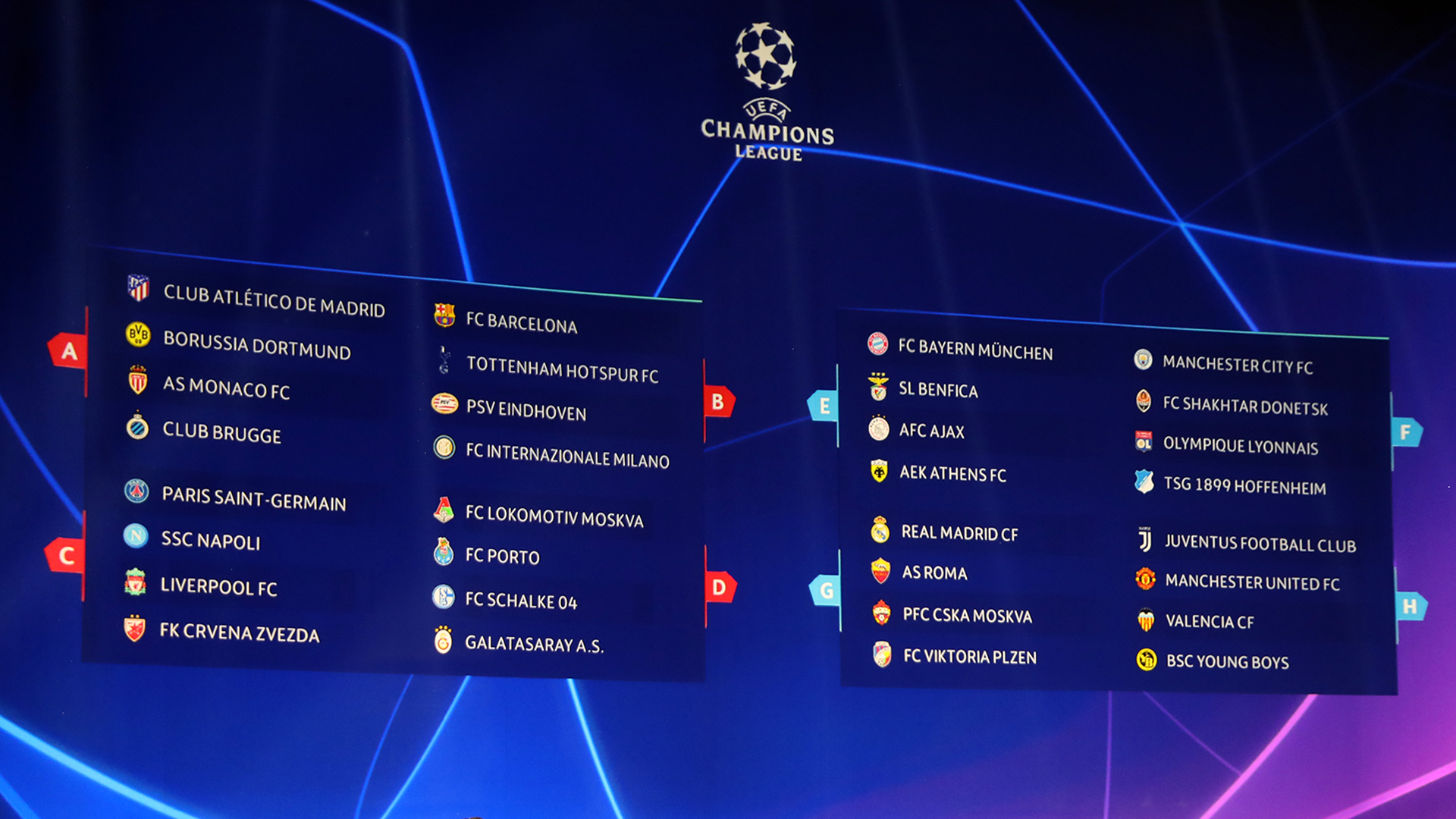 Champions League Last 16 Draw When Is It Fixtures Teams