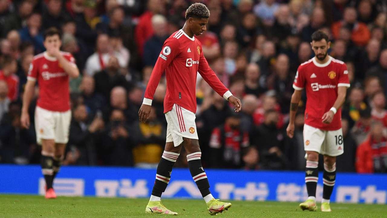 Marcus Rashford Manchester United Premier League 2021-22