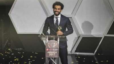 Mohamed Salah African Footballer of the year