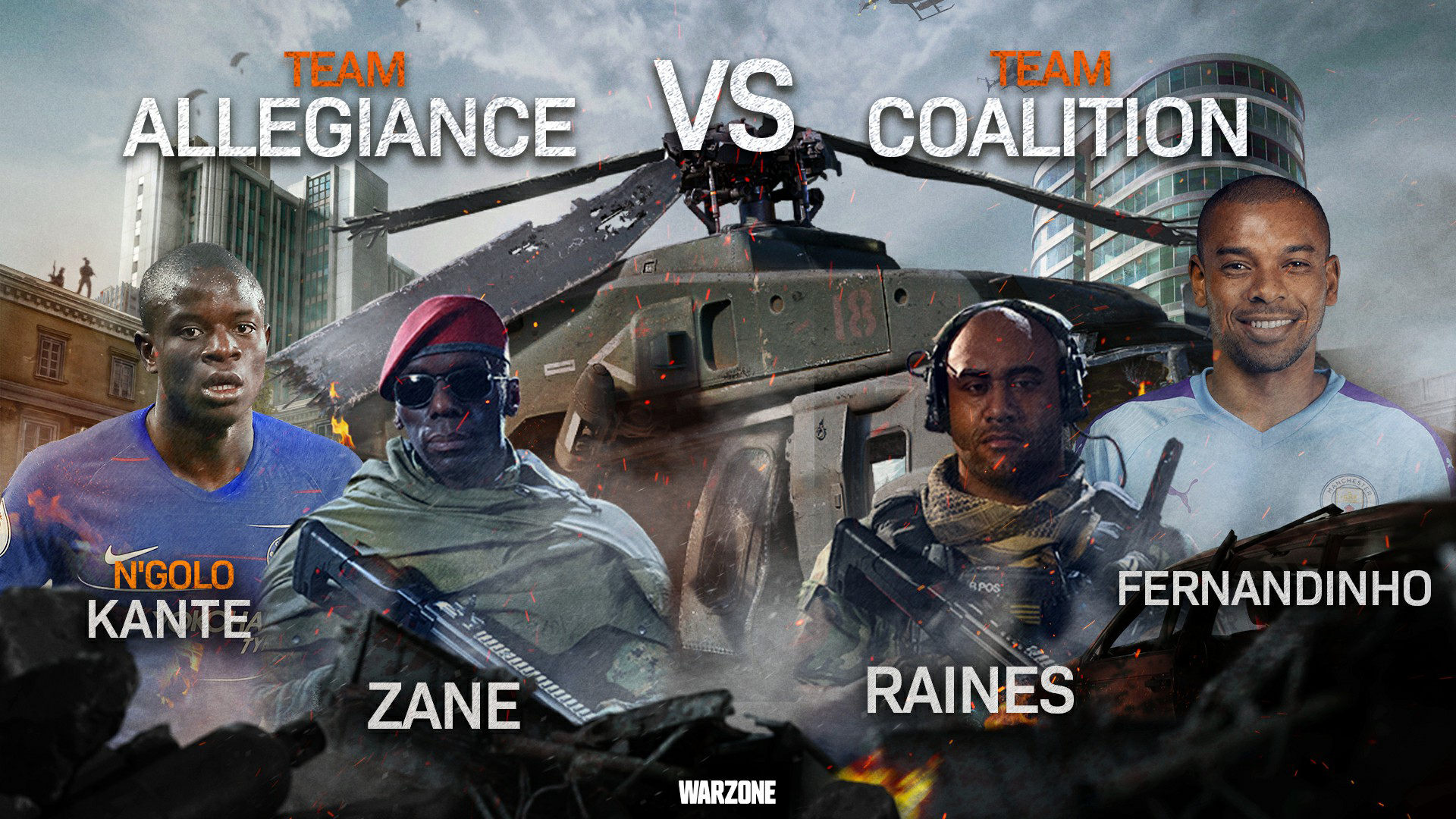 Call of Duty: Warzone | Coalition vs Allegiance |