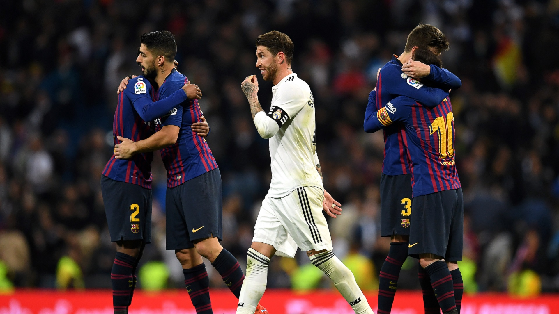 Rinviata Barcellona-Real Madrid: paura per l'ordine pubblico