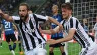 Gonzalo Higuain Daniele Rugani Juventus 2017-18
