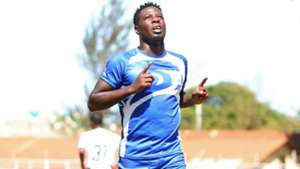 Kakamega Homeboyz striker Allan Wanga.