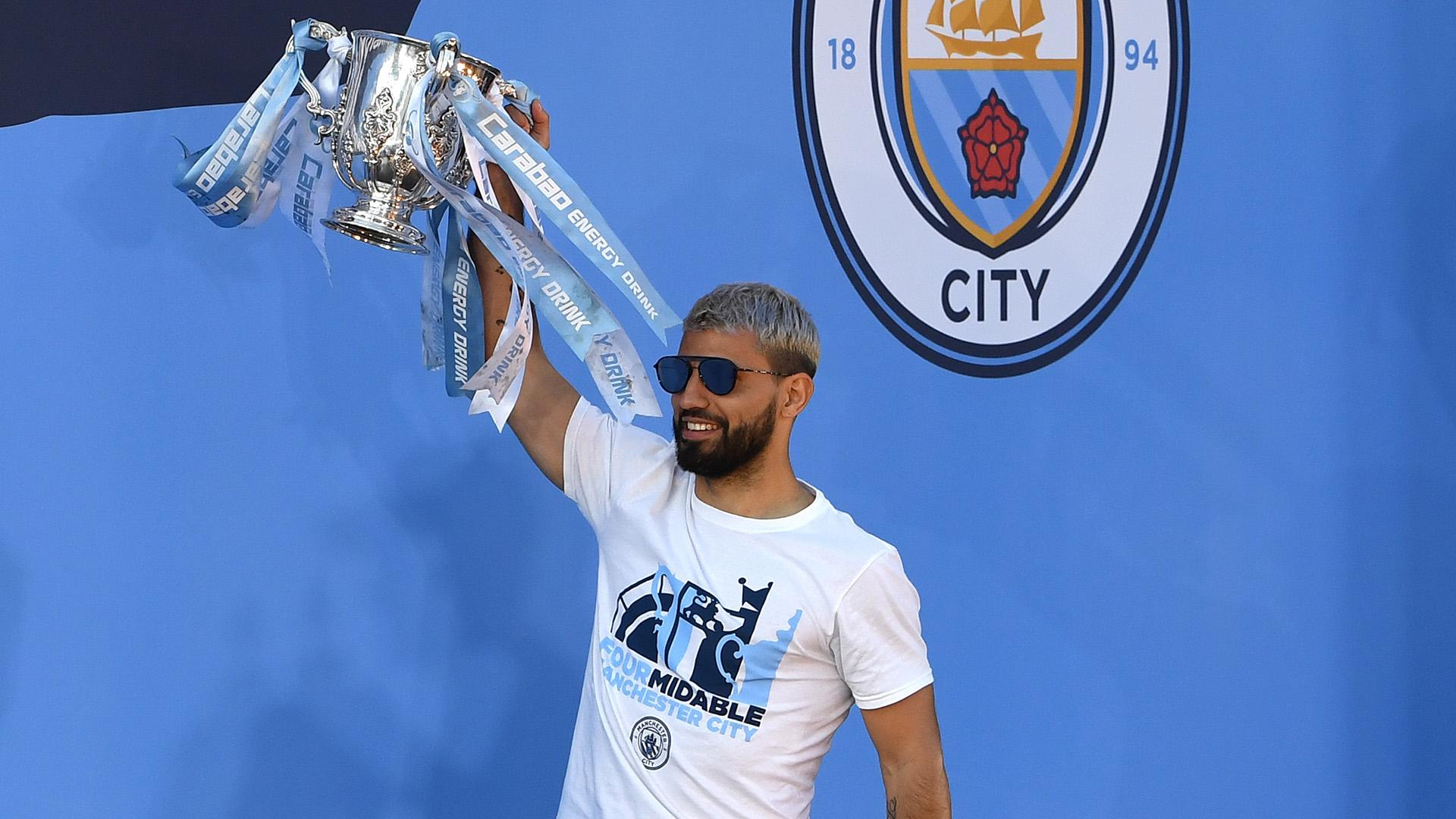 Manchester City 2018-19 Carabao Cup Sergio Aguero