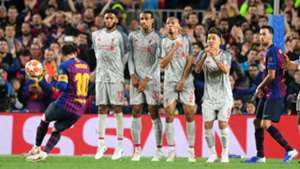 Lionel Messi FC Barcelona Champions League FC Liverpool