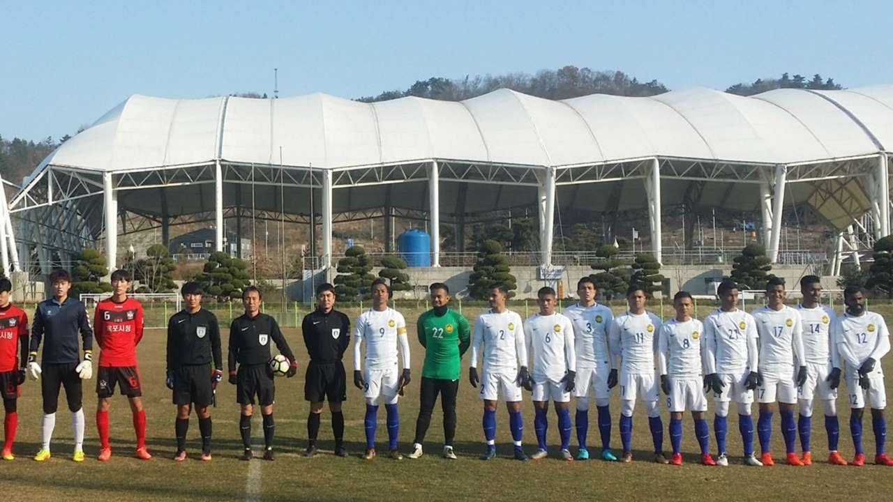 Malaysia U23 v Mokpo City FC