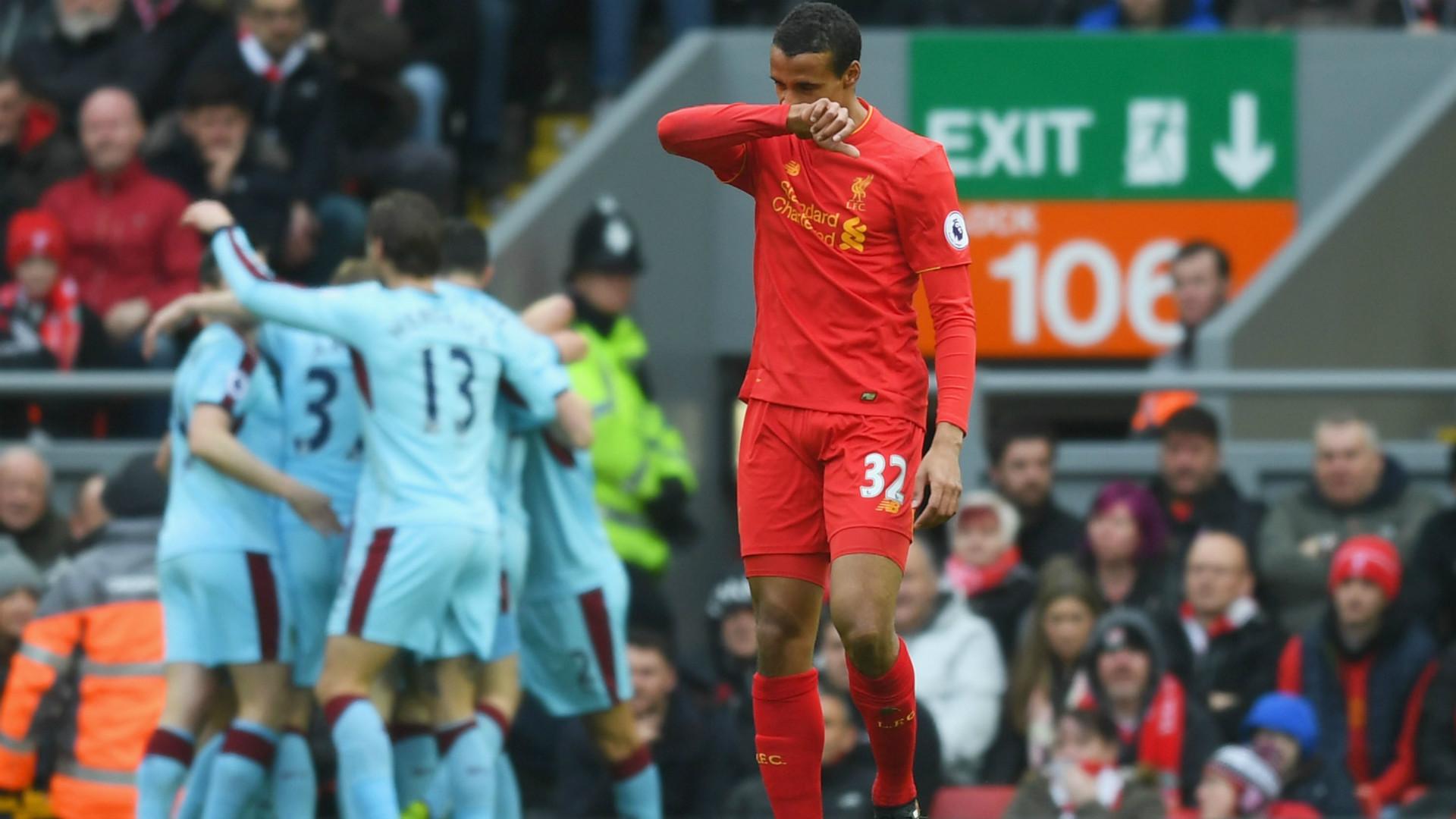 HD Joel Matip Liverpool v Burnley