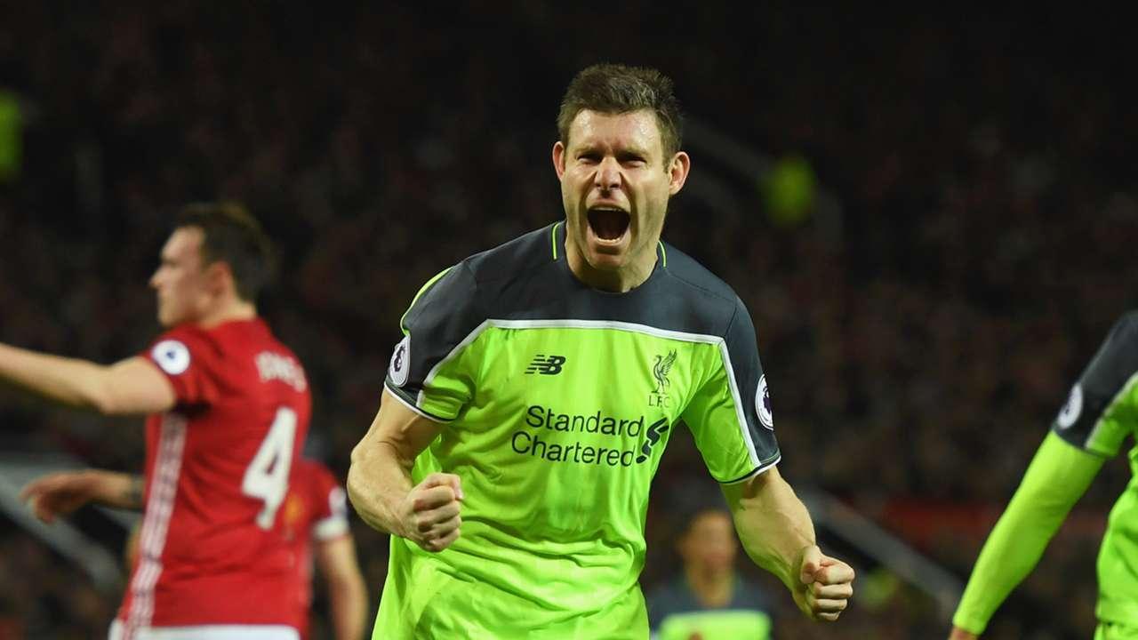 HD James Milner Manchester United Liverpool