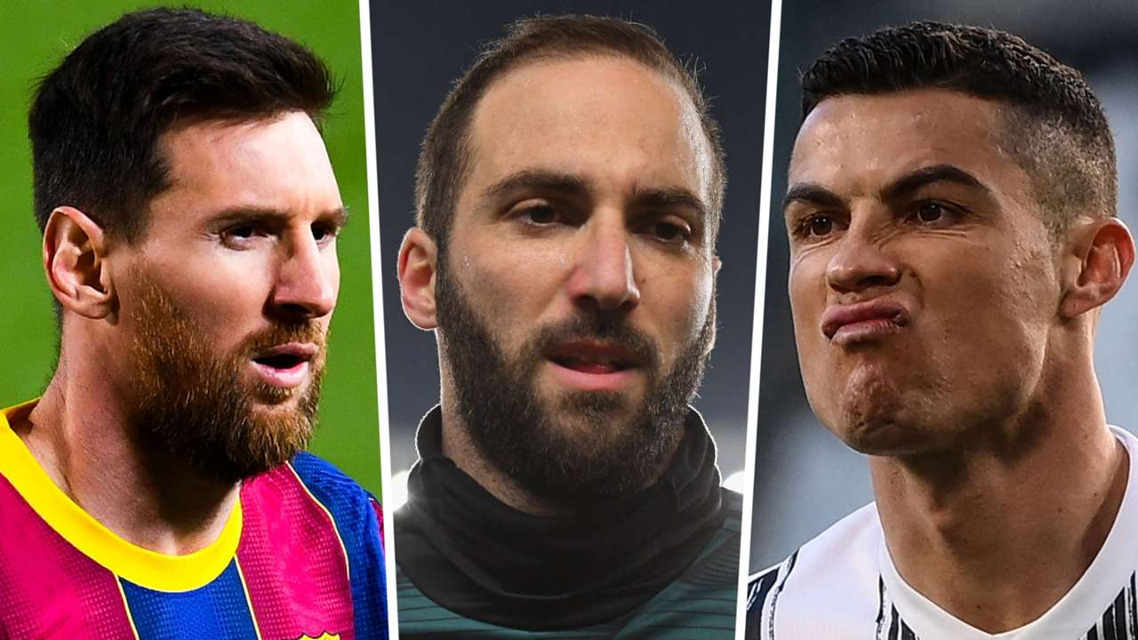 Messi, Higuain, Cristiano Ronaldo