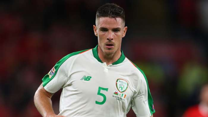 Ciaran Clark Republic of Ireland 2018