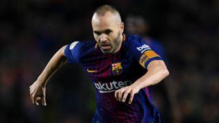Andrés Iniesta Barcelona La Liga 01282018