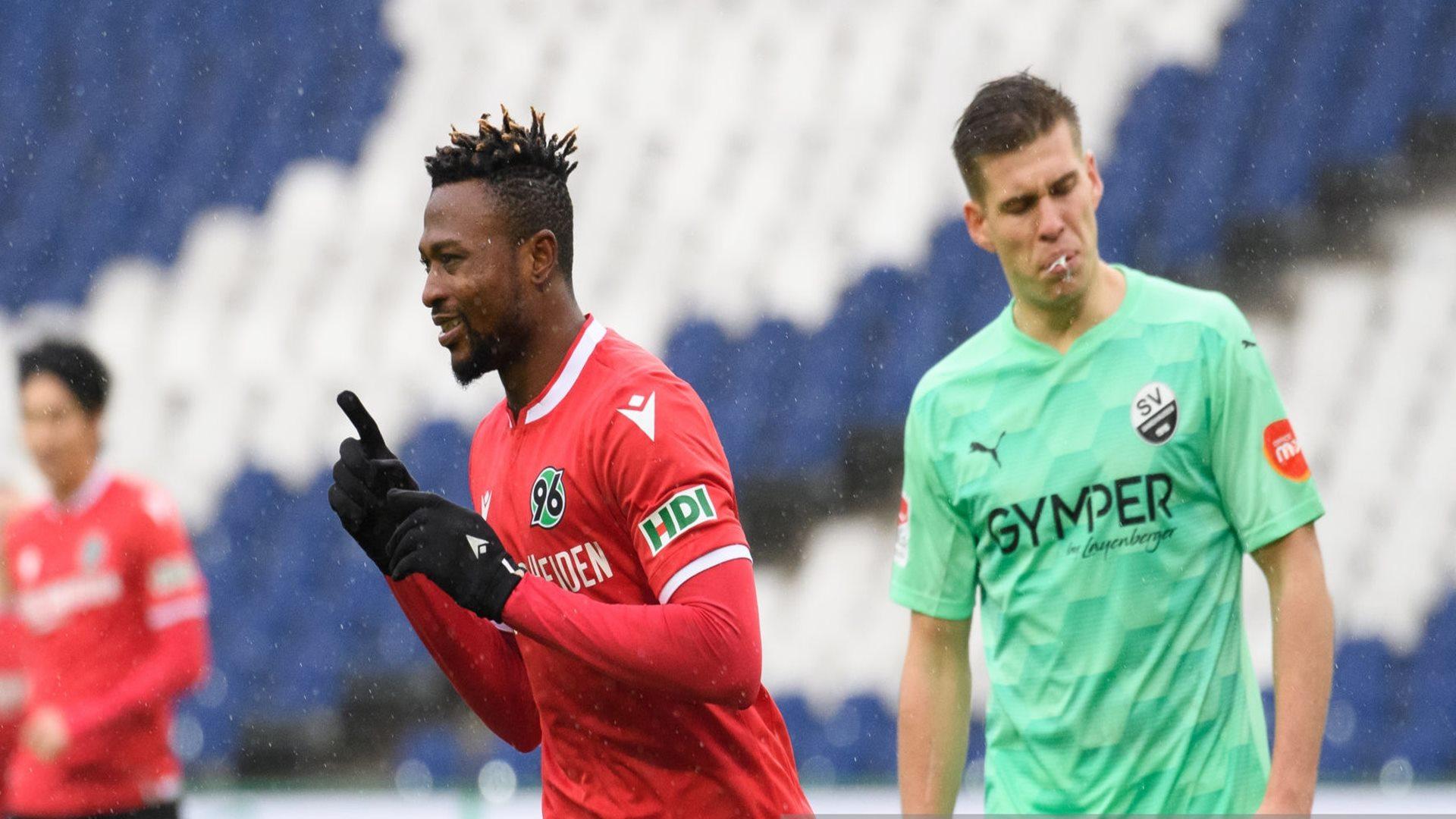 Twumasi: Ghana attacker hits double for Hannover 96 in German Bundesliga II