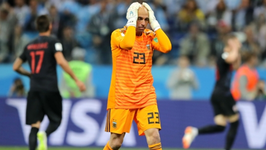 Caballero reveals death threats after mistake for Argentina vs Croatia at 2018 World Cup | Goal.com