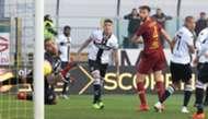 Cristante goal Parma Roma