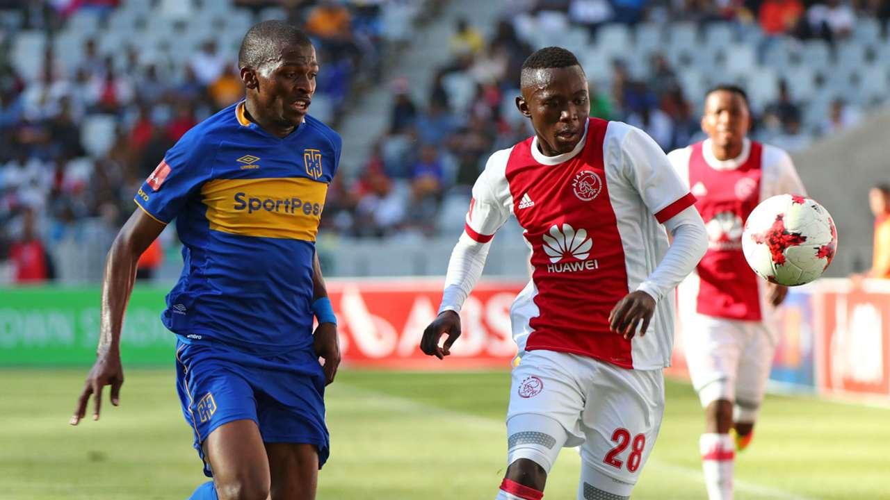 Cape Town City, Thamsanqa Mkhize & Masilake Phohlongo/