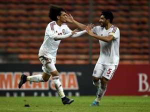 Malaysia 1-2 UAE Omar Abdulrahman