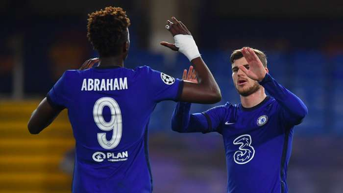 Tammy Abraham and Timo Werner Chelsea