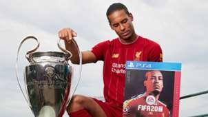 Virgil van Dijk FIFA 20 Cover