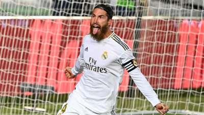Sergio Ramos Real Madrid vs Getafe La Liga 2019-20