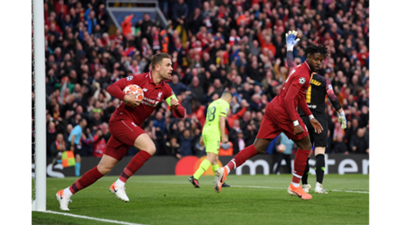 Jordan Henderson Liverpool Barcelona 2019