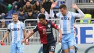 Kwang-Song Han Sergej Milinkovic-Savic Ciro Immobile Cagliari Lazio Serie A 03112018