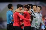Son and Kim Jin-su