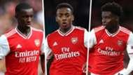 Saka Willock Nketiah Arsenal