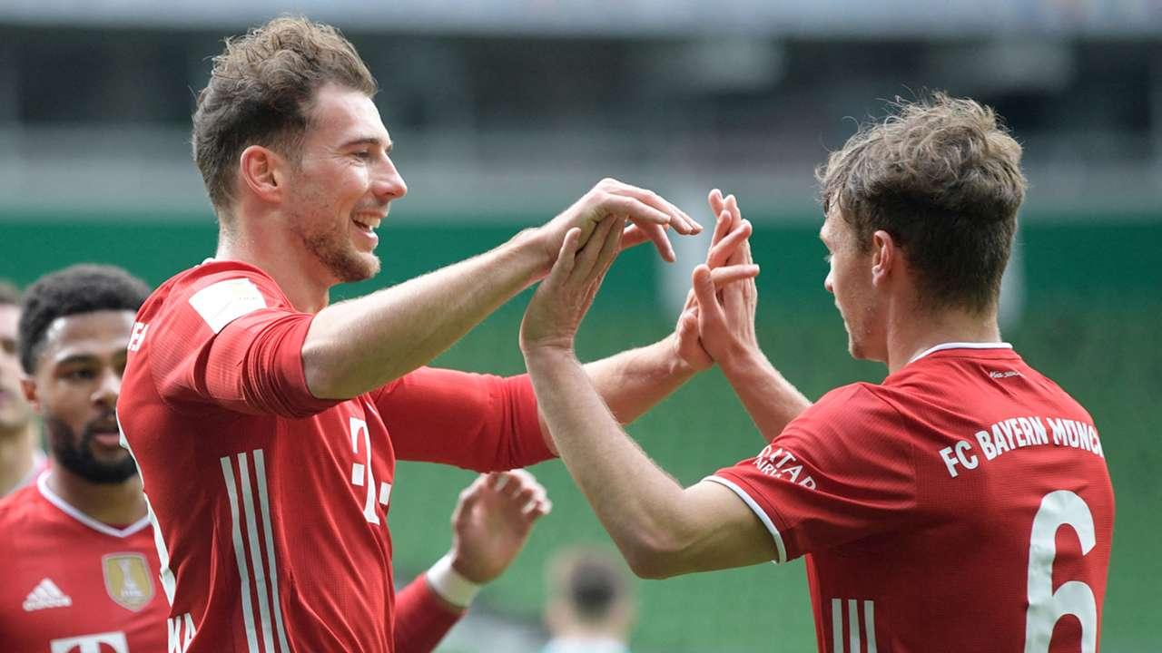 Leon Goretzka Joshua Kimmich Bayern 2020-21
