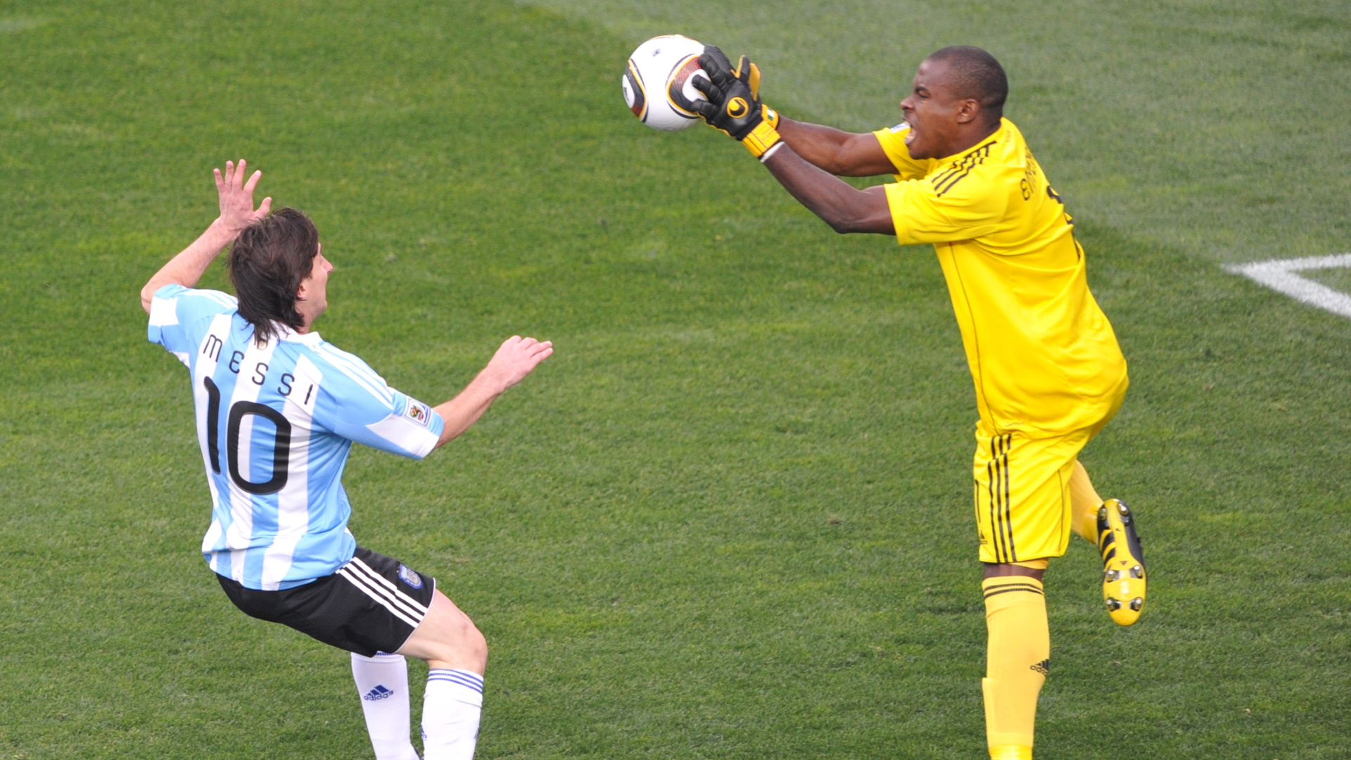 Retrospective: Enyeama vs Messi's Argentina at the 2010 World Cup