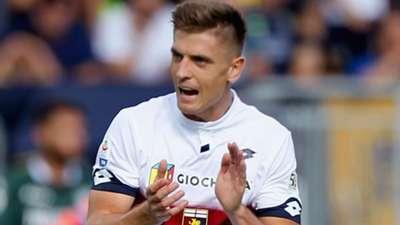 Piatek Frosinone Genoa Serie A