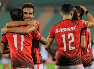 الأهلي - هشام محمد - وليد سليمان