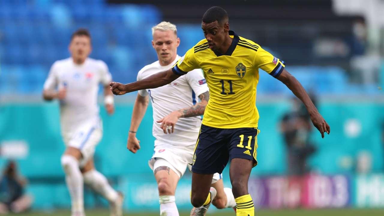 Alexander Isak Sweden Euro 2020
