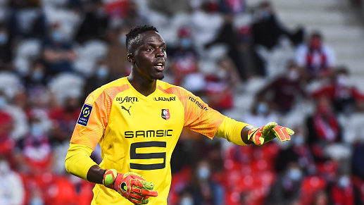 Edouard Mendy Rennes Ligue 1