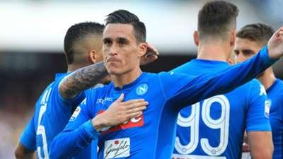 Jose Callejon Napoli 2017-18