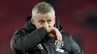 Ole Gunnar Solskjaer Man Utd vs Aston Villa 2019-20
