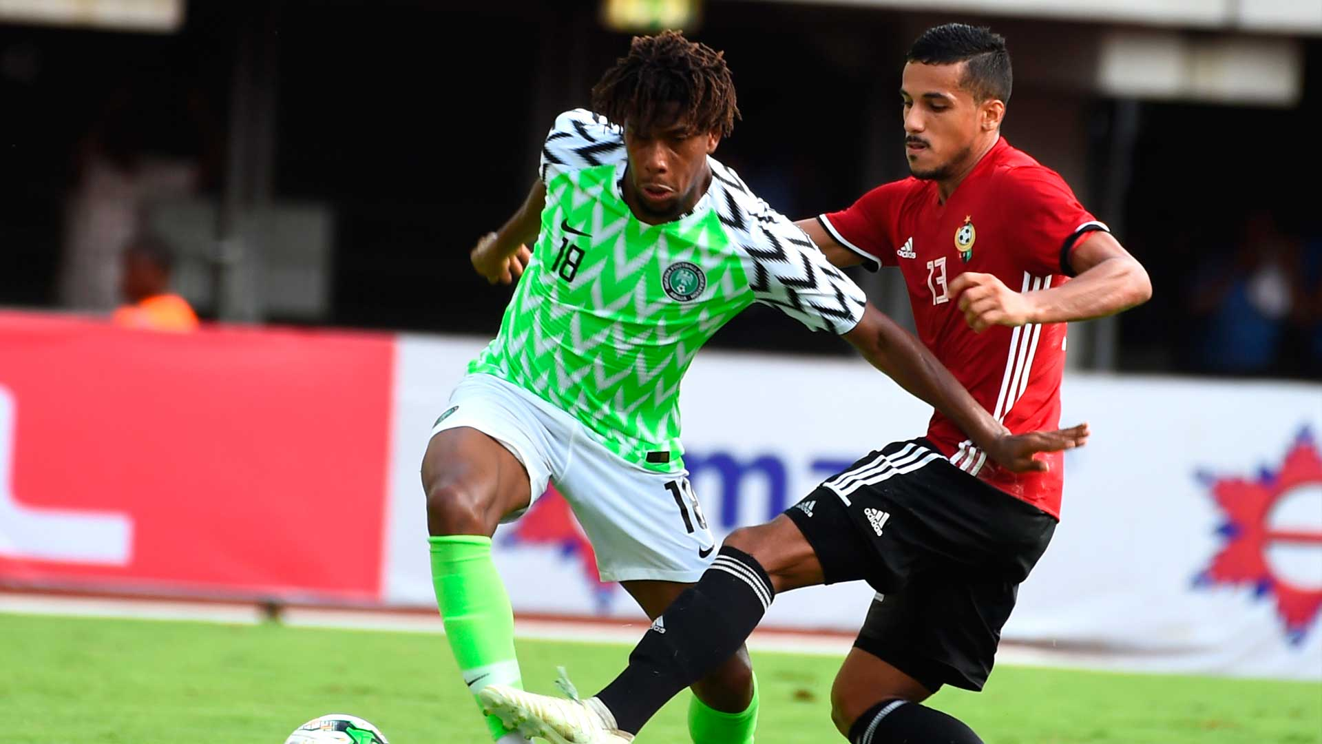 'It was a blessing to play with Mikel and Ighalo' - Everton star Iwobi