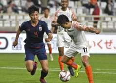 ทีมชาติไทย พบ ทีมชาติอินเดีย
