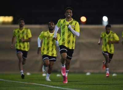 Al Jazira midfielder Abdullah Ramadan
