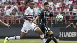 Militão e Clayson - São Paulo x Corinthians - 24/09/2017