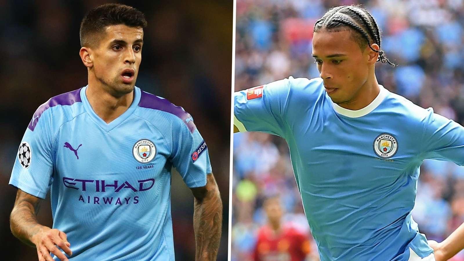 Leroy Sane Joao Cancelo Manchester City GFX