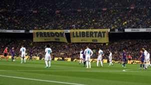Barcelona Real Madrid Freedom Llibertat 2018