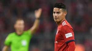 James Rodriguez Bayern Munich 2018-19