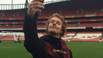 Alfie Allen Arsenal
