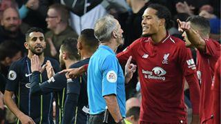 Virgil van Dijk Liverpool Manchester City 071018