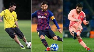 Messi Freekicks